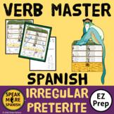 Spanish Verb Master Irregular Preterite. Verbos Irregulares - Pretérito Español
