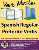 Spanish Verb Master Regular Preterite. Verbos Regulares de