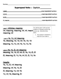 Spanish Verb Practice (AR, ER, IR, Past, Future, and Present Verbs)