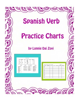 Spanish Verb Practice Charts - Drill for Skill