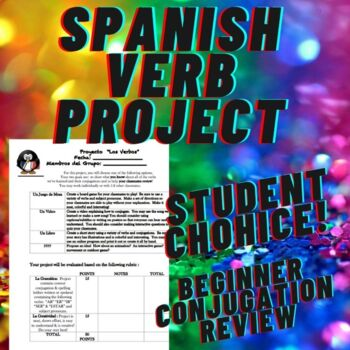 Spanish Verb Project
