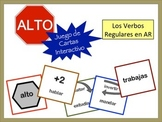 Spanish AR Verbs Card Game