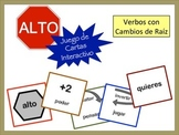 Spanish Stem-Changing Verbs Card Game