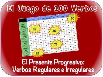 Spanish Present Progressive Writing Activity (Powerpoint)