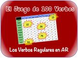 Spanish AR Verbs Writing Activity (Powerpoint)
