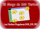Spanish Regular Verbs (AR, IR, ER) Writing Activity (Powerpoint)