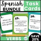 Spanish Task Cards Verbs Bundle