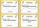Spanish Verb Task Cards Tarjetas de los Verbos