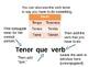 Spanish Verb Tener