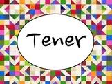 Spanish Tener PowerPoint Slideshow Presentation