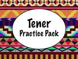 Spanish Tener Worksheets Practice Pack