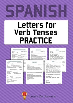 Spanish Verb Tense Practice Through Letters