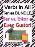 Spanish Verb Tenses / Present to Subjunctive, Ser vs. Esta