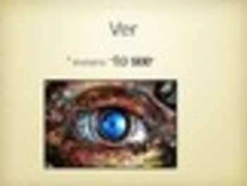 Spanish Ver Keynote Slideshow Presentation for Mac