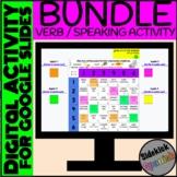 Spanish Verb and Speaking Virtual Dice Game Digital Activi