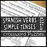 Spanish Verbs – Conjugating the Simple Tenses Bundle (Cros