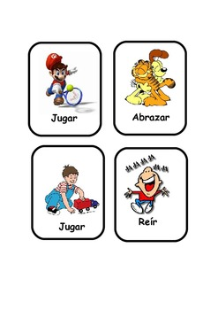 Spanish Verbs  Flashcards .40 verbs