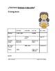 Spanish Verbs Info Gap Game: Los verbos