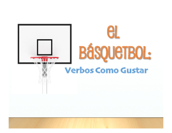 Spanish Verbs Like Gustar Basketball