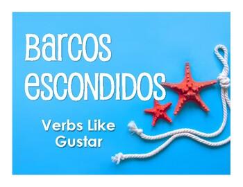 Spanish Verbs Like Gustar Battleship-Style Game