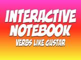 Spanish Verbs Like Gustar Interactive Notebook