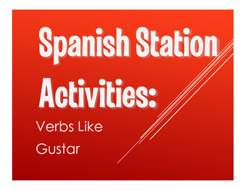 Spanish Verbs Like Gustar Stations