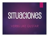 Spanish Verbs Like Gustar Situations