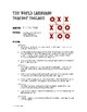Spanish Verbs Like Gustar Tic Tac Toe Partner Game
