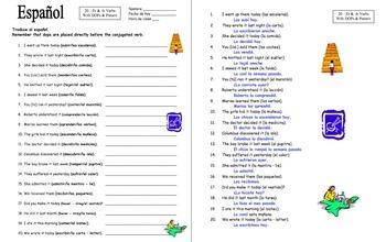 Spanish Verbs Mega Bundle of 5 Including Preterit, Imperfect, Reflexives, 2 More