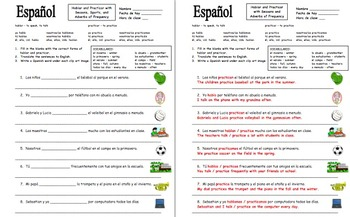 Spanish Verbs Mega Bundle of 5 Bundles - Irregulars, Gustar, Tener, and More