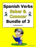 Spanish Verbs Saber and Conocer Bundle of 3