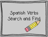 Spanish Verbs Search and Find - 8 Word Search Activities