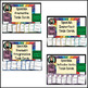 Spanish Verbs Task Cards BUNDLE! 8 sets!