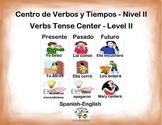 Spanish Verbs Tense - Level II / Verbos y Tiempos Nivel II