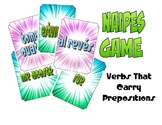 Spanish Verbs That Carry Prepositions Naipes Game