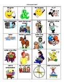 Spanish Verbs and Me Gusta Vocabulary Bingo