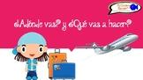 Spanish Verbs & the Simple Future - ¿Adónde vas? y ¿Qué vas a hacer? (Q&A)
