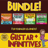 Spanish Verbs with Gustar. Spanish Word Kids Bundle for Younger Learners!