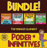 Spanish Verbs with Poder Bundle. Elementary and Middle School Version!