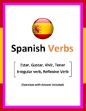 Spanish Verbs with exercises and answers