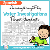 Spanish Version Water Investigations Learning Through Play