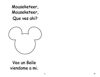 Spanish Version of Mouseketeer Mouseketeer