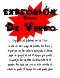 Spanish Version of Verb Blast: A Picture and Word Matching Game