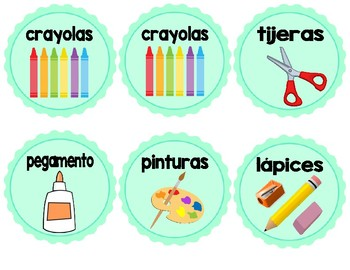Spanish Vesion - Labels