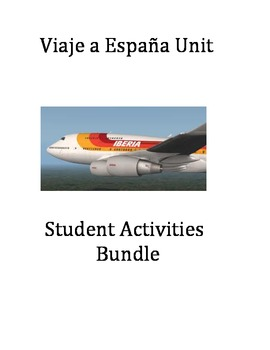 Spanish Travel Unit-Viaje a Espana