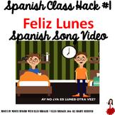 "001 Spanish Song Video ""Feliz Lunes"" improves Class Routine-Transition-Behavior"