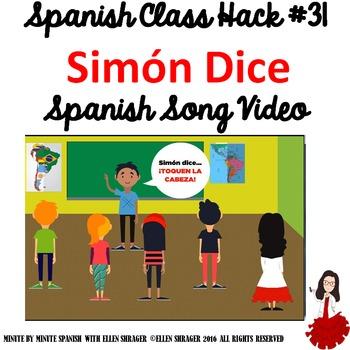 Spanish Class Hack: Transition Video: Simón Dice Simon Says