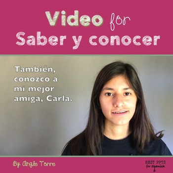 Spanish Video for Saber y conocer