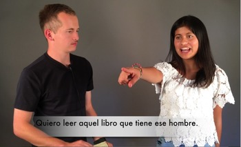 Spanish Video for the Demonstrative Adjectives and Pronouns