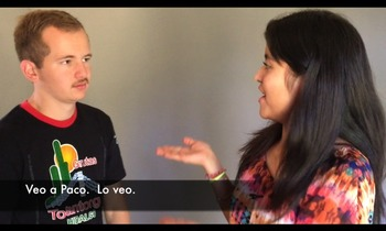 Spanish Video for the Object Pronouns